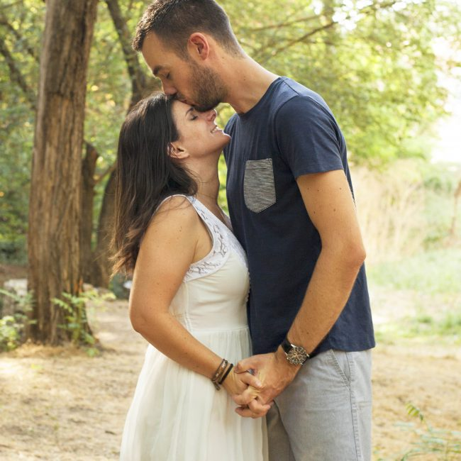 Photographe Couple Engagement Gardanne