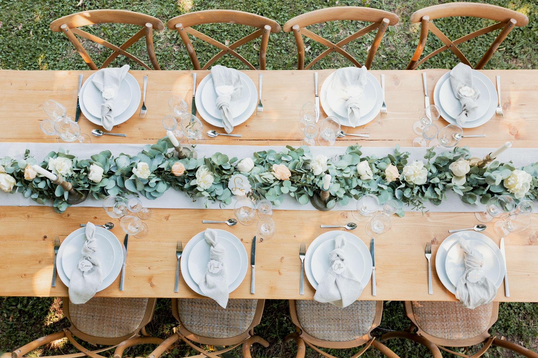 Table décoration Mariage Salon-de-Provence | Justine Maquart Photographe