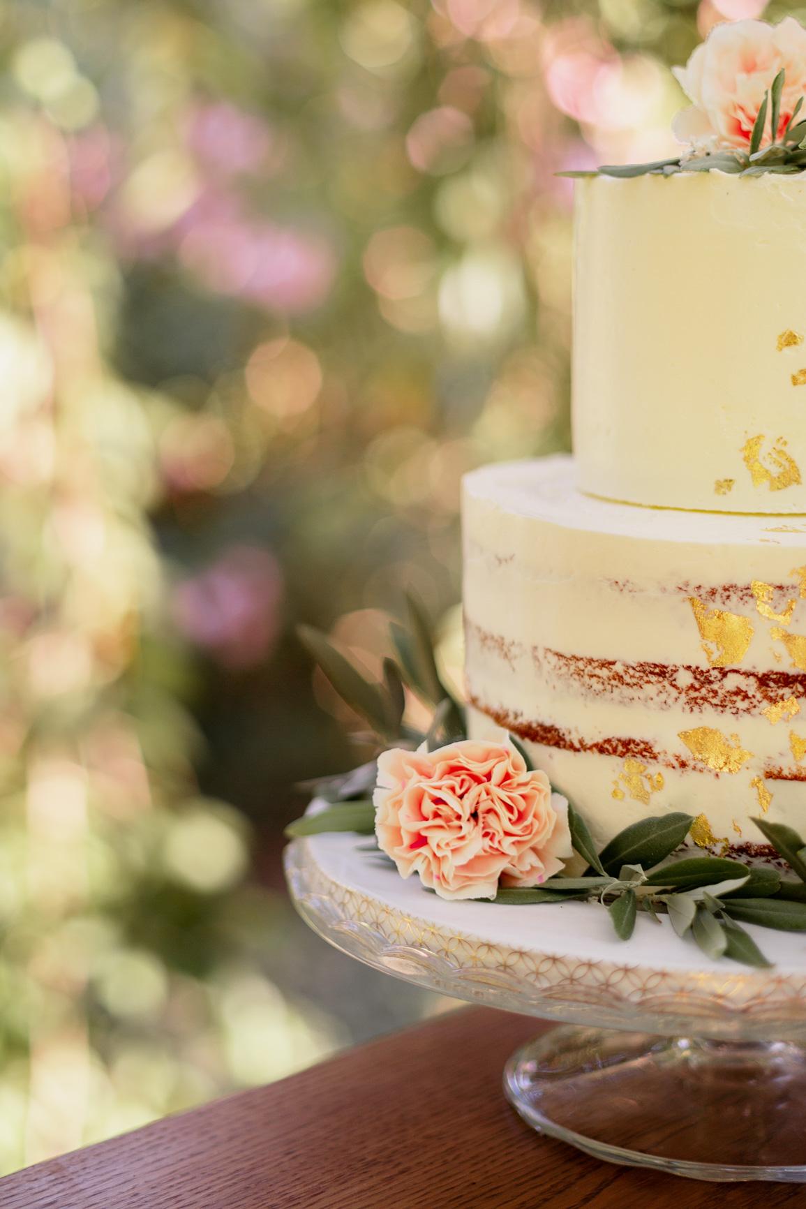 Gâteau décoration Mariage Salon-de-Provence | Justine Maquart Photographe