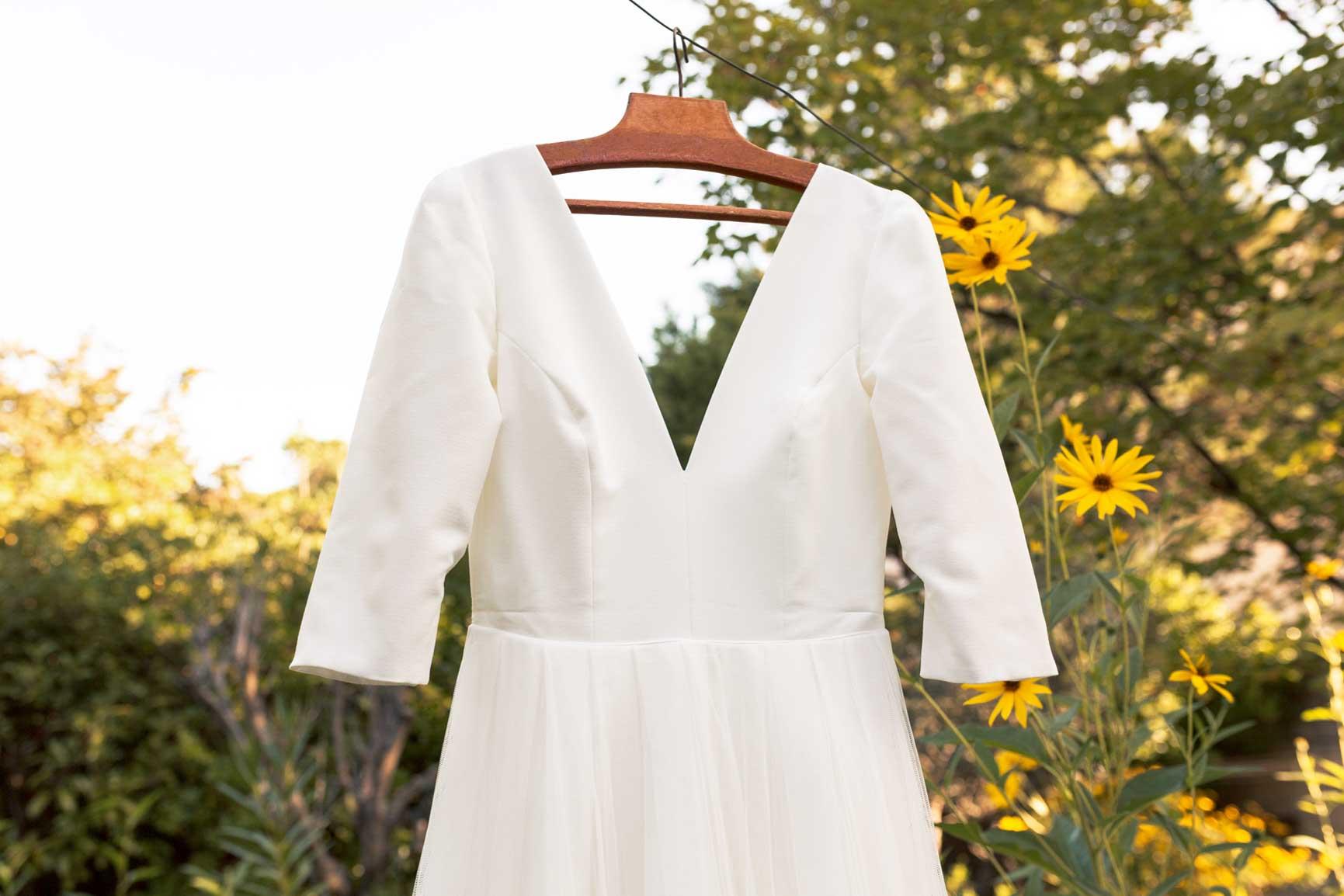 Robe de mariée Mariage intimiste Vaucluse | Aurore & Victor