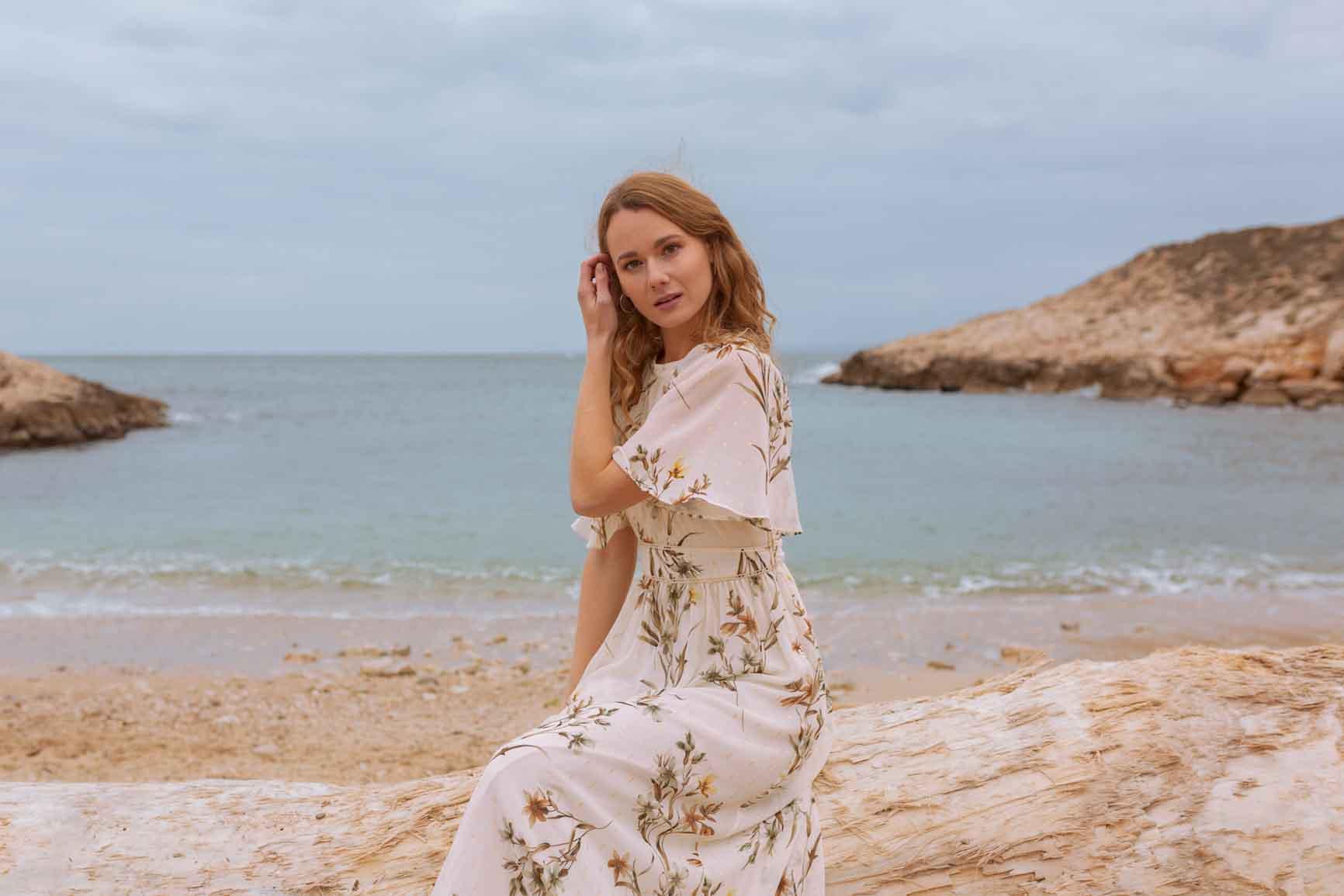 Séance photo portrait Marseille Plage
